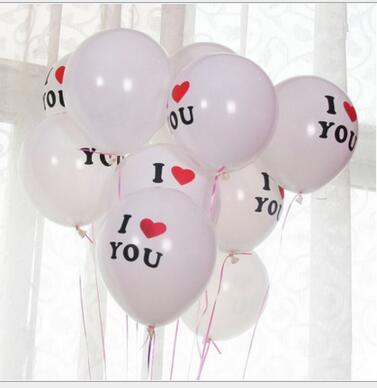12 inch Я ЛЮБЛЮ ТЕБЯ Латекс Globos воздушные шары Для Свадьба воздушный шар партия Украшения Надувные Воздушные Шары Классические игрушки