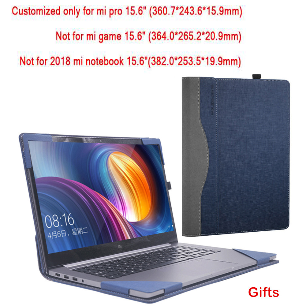 Custo mi zed para Xiao mi cuaderno Pro 15,6 mi portátil caso creativo diseño de pantalla película cubierta de teclado de lápiz de regalo