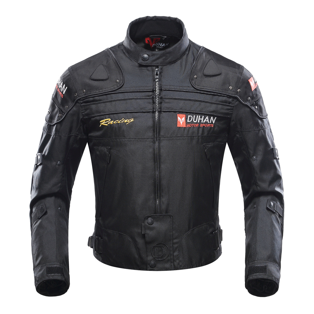 Motorcycle Jacket Motorbike Riding Jacket Windproof Motorcycle Full Body Protective Gear Armor Winter Moto Clothing DUHAN