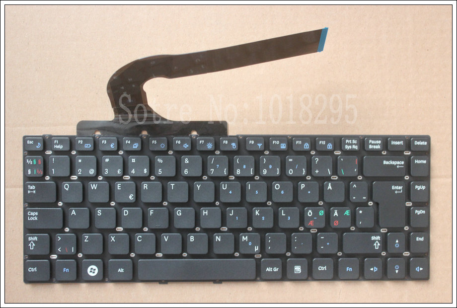 original NE Keyboard For Samsung Q430 Q460 RF410 RF411 P330 SF410 SF411 SF310 Nordic paper laptop keyboard