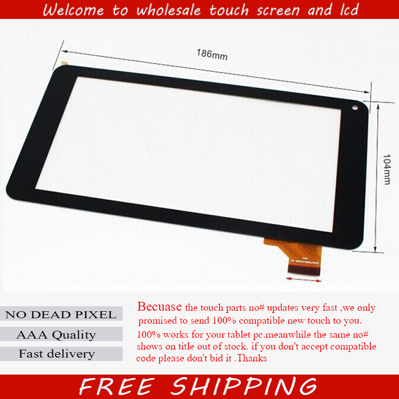 1PCS FOR F 10.1 inch Touch Screen Panel Glass C145256B1-DRFPC247T-V2.0