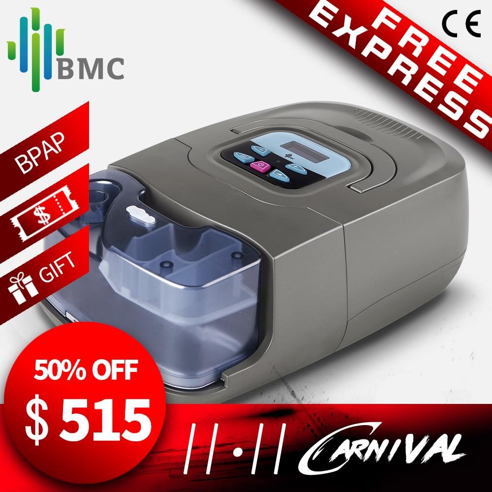 BMC GI BPAP (25A) auto/modo S con máscara humidificador llevar caso terapia ronquido Apnea del sueño y EPOC hecho en China fábrica