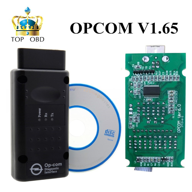 Prix pour Date OPCOM V1.59 V1.65 V1.70 firmware A + + + qualité OP-COM Pour Opel outil De Diagnostic OP COM avec réel pic18f458 bateau libre