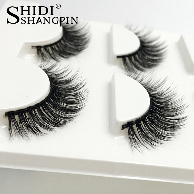 Eyelashes 3d mink lashes natural long make up false eyelashes 10mm eyelash glue makeup eye lashes tweezers 3d lashes maquiagem 1