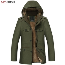High Quality Autumn Winter Men s Jacket Coats Men Outdoors New Fashion Casual Thick Warm Fur