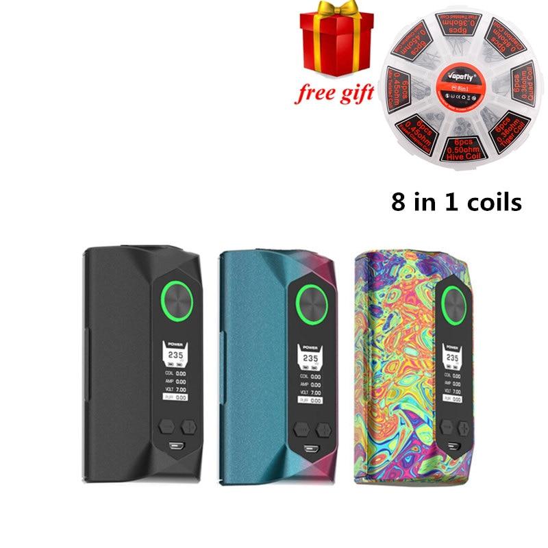 Free gift!!! Original Geekvape Blade mod 235W with aircraft grade material Blade Box MOD Support 18650 20700 21700 Battery Vape