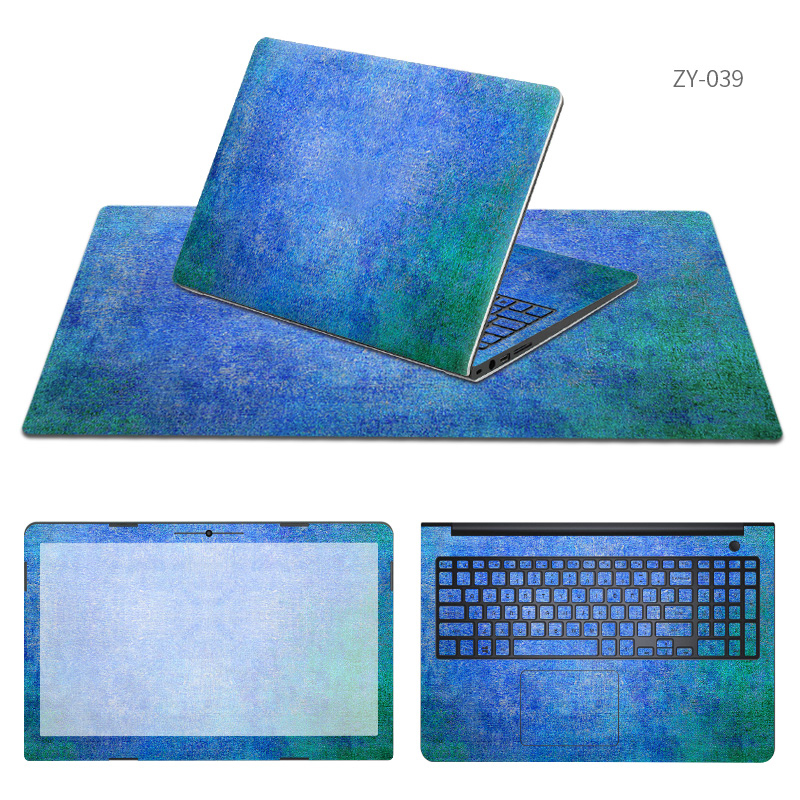 Free Cutting Laptop Sticker Same Style Mouse Pad Sets Skin for Hasee K580C/K580S/K590C/K590S/k610c/K610D I5 I7/K650C D1 D2 Cases
