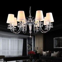 Europejski styl salon charakter sypialnia kryształowy żyrandol