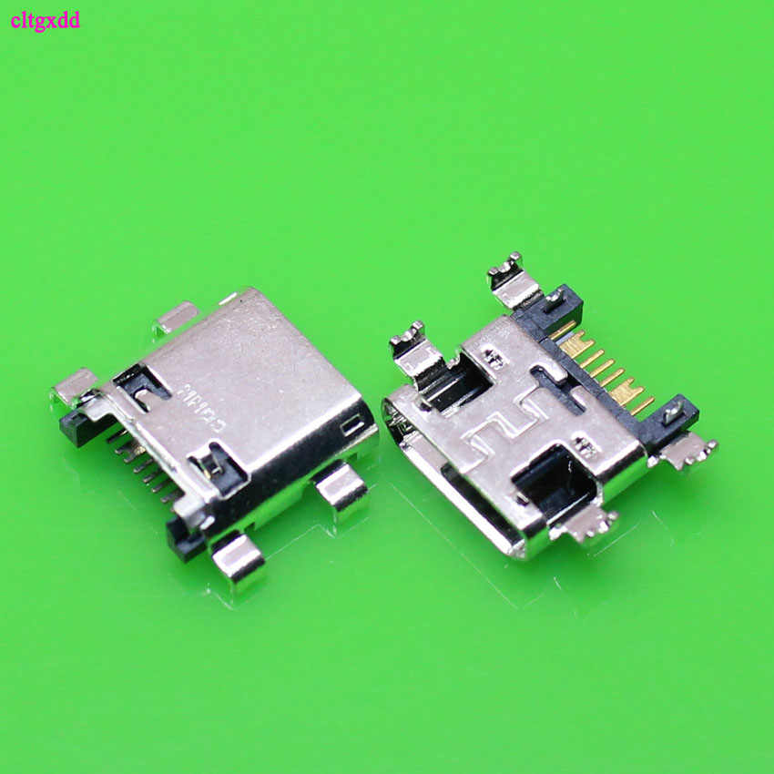 clgxdd 10pcs Micro USB Jack Connector Female 7 pin Charging Socket For Samsung Galaxy Grand Prime G530