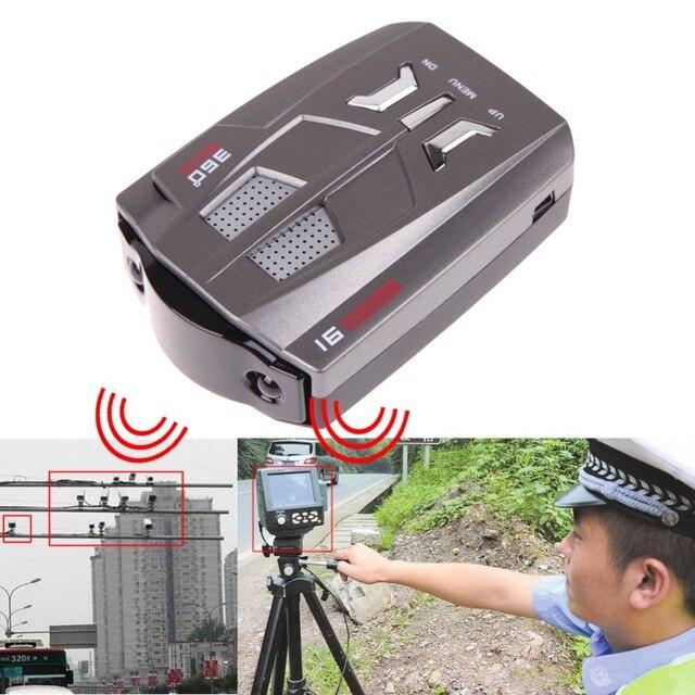 Лазерная Анти Высокое качество v9b автомобиля Скорость лазерной GPS 360 градусов голосового оповещения электронная собака Антирадары с Русский и английский