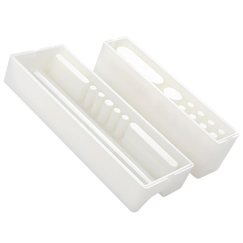 Multi-Functional Pen Holder Resin Molds Storage Box Pencil Holder Silicone Mold
