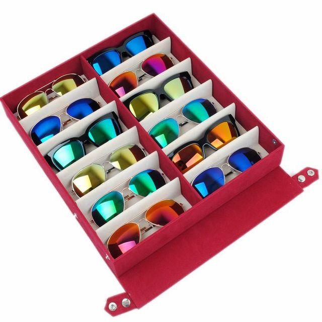 Gläser Aufbewahrungsboxen qualität sonnenbrille gläser aufbewahrungsbox display veranstalter