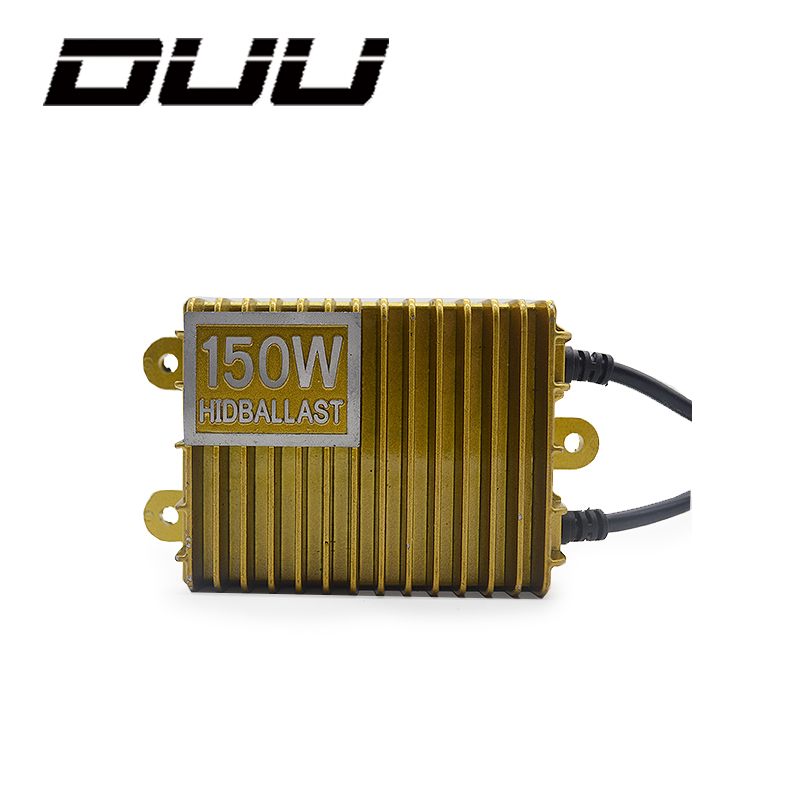 DUU 2pcs 150W Replacement D1S D3S HID Xenon lamp ballast headlight kit 55w 12V H1 H3 H4 H7 H11 9005 9006 6000K hot wholesale 55w silver hid xenon kit slim ballast 9006 12000k replacement headlight new [cpa239]