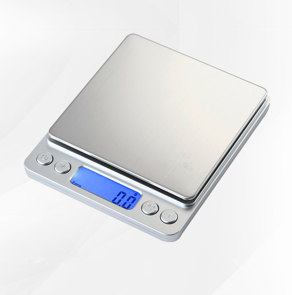 3000g/0.1g 500/0.01g LCD Portable Mini Electronic Digital Scales Pocket Case Postal Kitchen Jewelry Weight Balance Digital Scale 30g 0 001g precision lcd digital scales gold jewelry weighing electronic scale