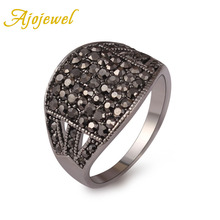 Size6-9 Free shipping Latest 18K White Gold Plated Vintage Ring