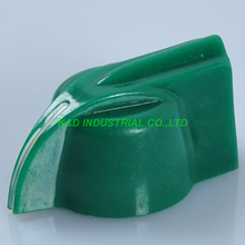 лучшая цена 10pcs Plastic AMP Green Knob Effect Pedal Knob volume Knob for HIFI Guitar Amplifier