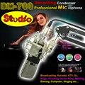 BM-700 Studio Recording Condenser Microphone Professional Mic Mike For Guitar Karaoke PC Music Create School Broadcast Microfone