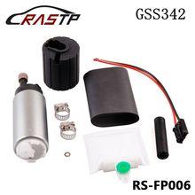 RASTP - Universal Intank Fuel Pump High Pressure Walbro Gss342 Fuel Pump 255lph Power Flow RS-FP006 new walbro gsl395 130lph 340hp ext fuel pump