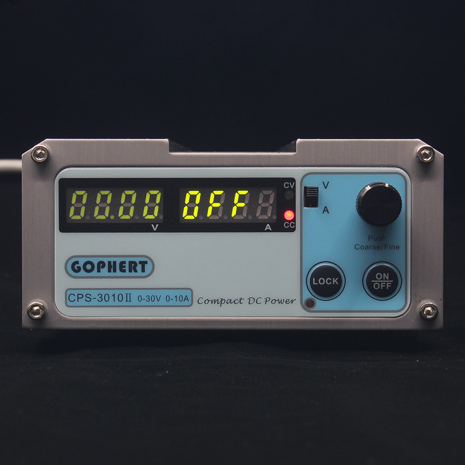 CPS-3010II 0-30V 0-10A low power Digital Adjustable DC Power Supply CPS3010 Switching power supply