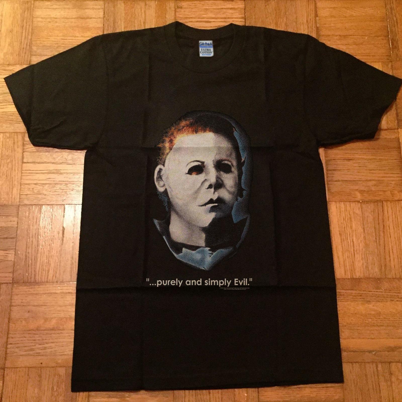 Vintage Halloween Horror Movie T Shirt Reprint