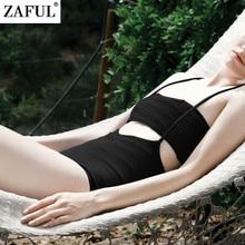 ZAFUL Women Sexy High Waist Bikini Brazilian Sling Bandeau Biquini Swimsuit Swimwear Bikinis Set Bathing Suit Maillot De Bain