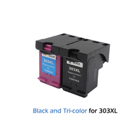 2 Color for HP303 for Hp 303 Ink Cartridge Compatible for HP Envy 6220 6222 6230 6234 6252 6255 7120 7130 7132  7155 Printers|Ink Cartridges| |  -