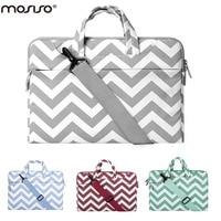 Mosiso Waterproof Denim Handbag Shoulder Laptop Bag 11 12 13 14 15 Inch Universal Laptop Notebook