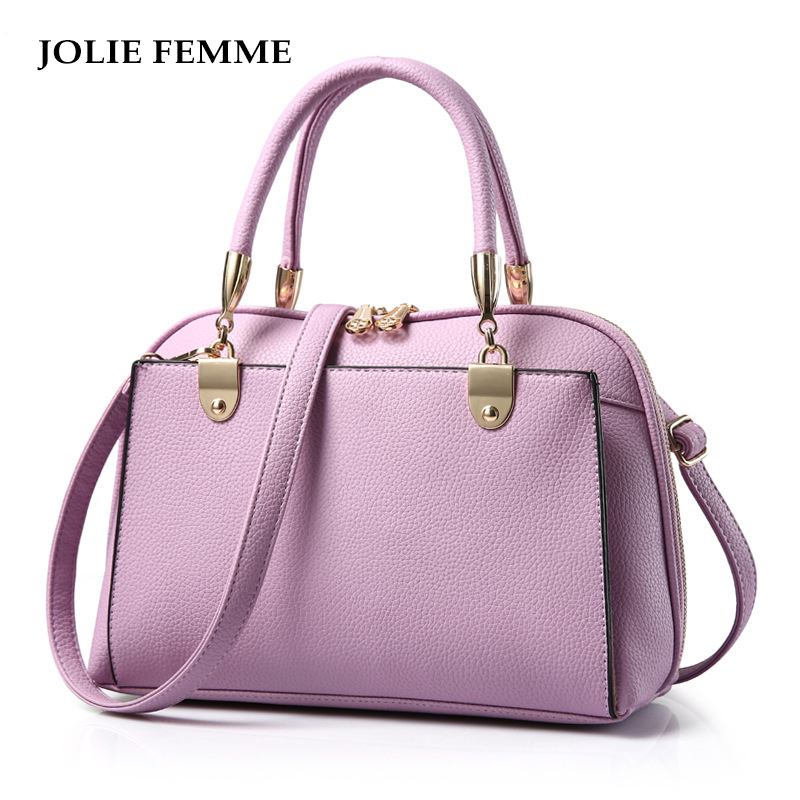 ФОТО JOLIE FEMME Fashion Handbags Famous Brand Leather Messenger Bag Ladies Women Tote Bags Handtas Bolsas Feminina Sac A Main Dos