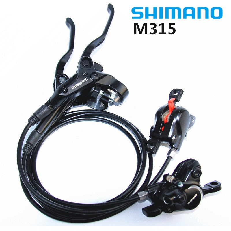 shimano BR-BL-M315 M315 Brake bicycle bike mtb Hydraulic Disc brake set clamp mountain bike Brake shimano m315 mtb bike hydraulic disc brake set clamp mountain brake bicycle disc brake original bicycle brakes free ship