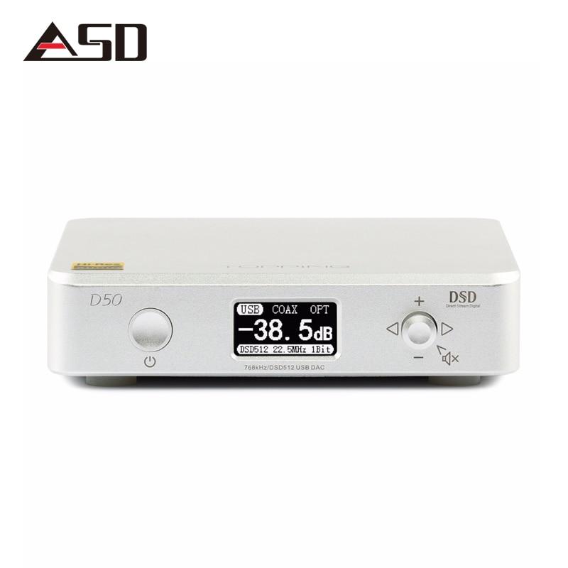 ASD TOPPING D50 MINI HIFI AUDIO Dekodiranje ES9038Q2M * 2 USB DAC - Prijenosni audio i video - Foto 2