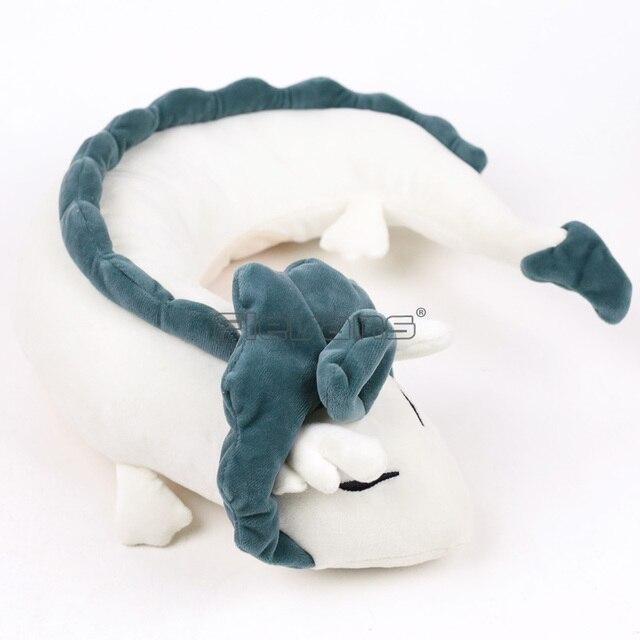 Anime A Viagem de Chihiro Haku Dragão Dos Desenhos Animados Kawaii Plush Soft Toy Stuffed Boneca Presente