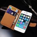4S virar carteira de couro caso capa para o iphone 4s 4 luxo suporte do telefone móvel bag para iphone 4 4s da tampa do caso coque