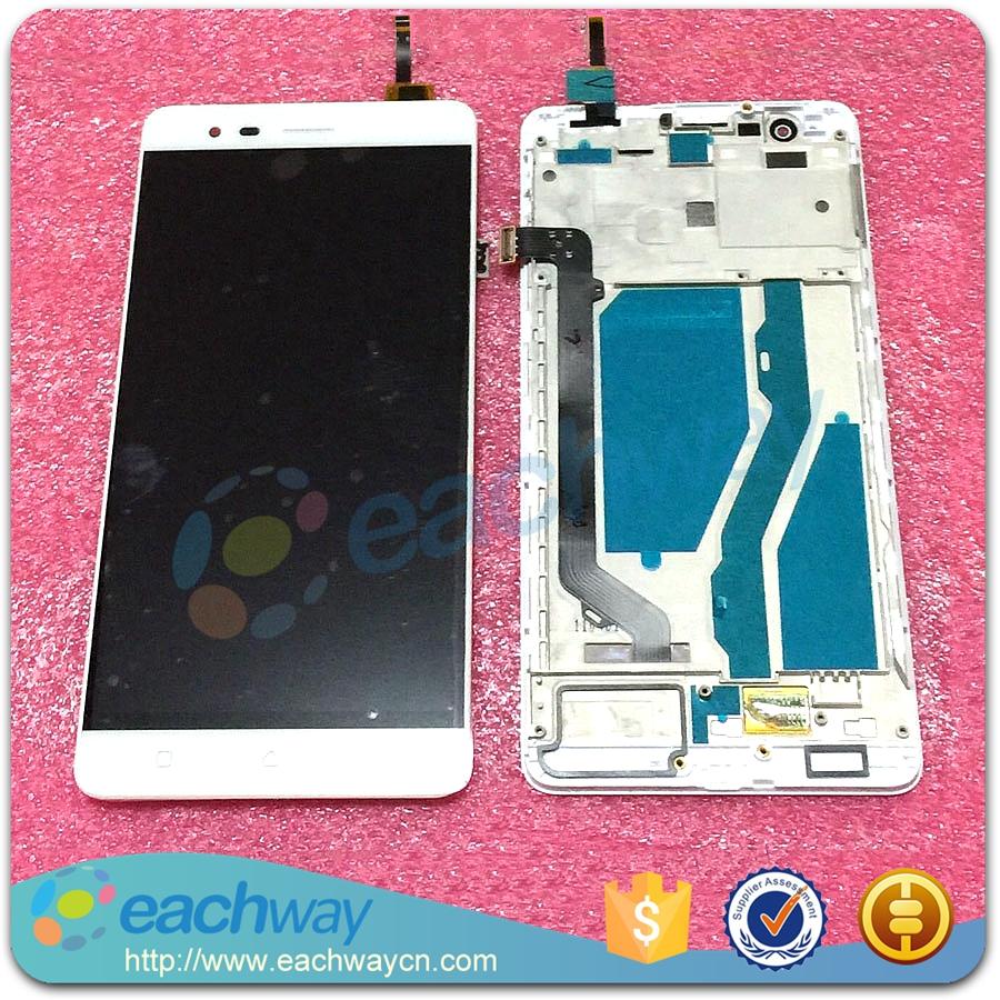 Prix pour Pour Lenovo K5 Note LCD Affichage à L'écran Tactile Digitizer Assemblée Avec Cadre K52t38 Pièces De Rechange