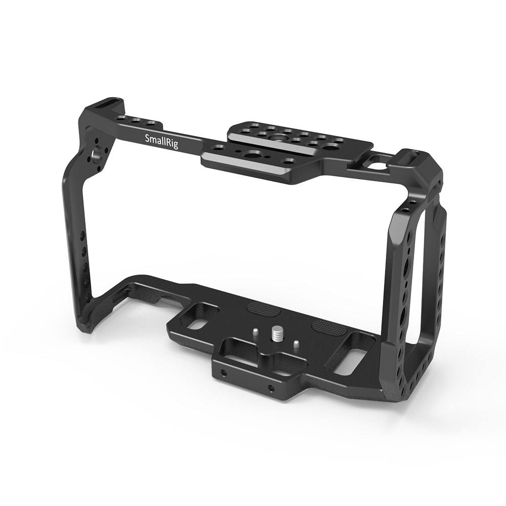 Image 3 - SmallRig Cage for Blackmagic Design Pocket Cinema Camera 4K BMPCC 4K / BMPCC 6K With NATO Rail Thread Holes for DIY Options 2203-in Camera Cage from Consumer Electronics