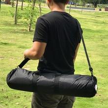 Wyściełana torba na statyw 50cm 55cm 60cm 65cm 70cm 75cm 80cm 100cm 125cm aparat fotograficzny Monopod stojak trójnóg futerał do przenoszenia z paskiem na ramię