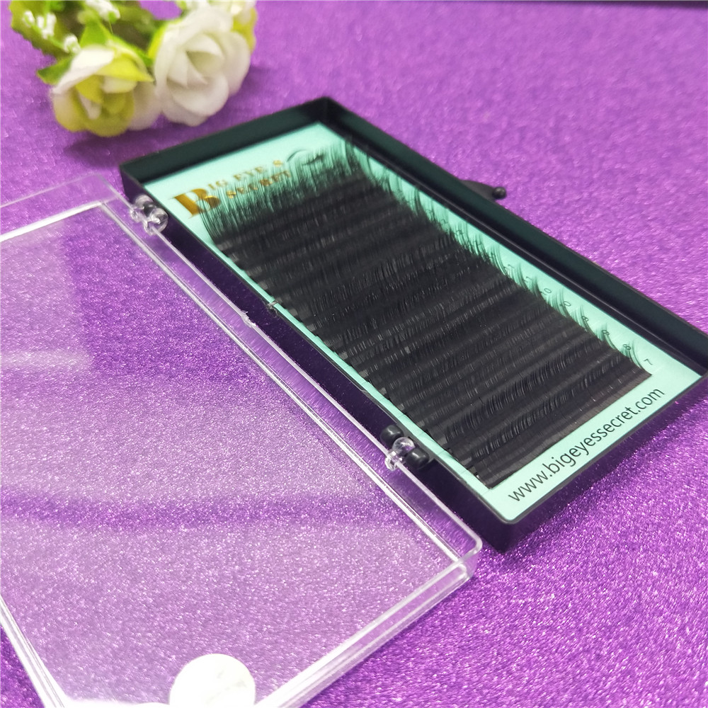 Promotions price individual eyelash extension Natural Eye lashes Extension Korea Fiber Lash Extension for Professional