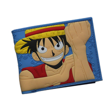 One Piece Anime Monkey D Luffy Wallet with card holder