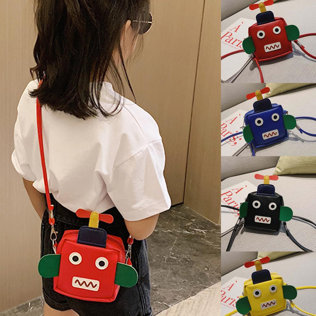 European Casual New Fashion FemaleGirl 2019 New Fashion Casual Shoulder Bag Cute  Purse Children Messenger Bag for Kids  2019#7(China)