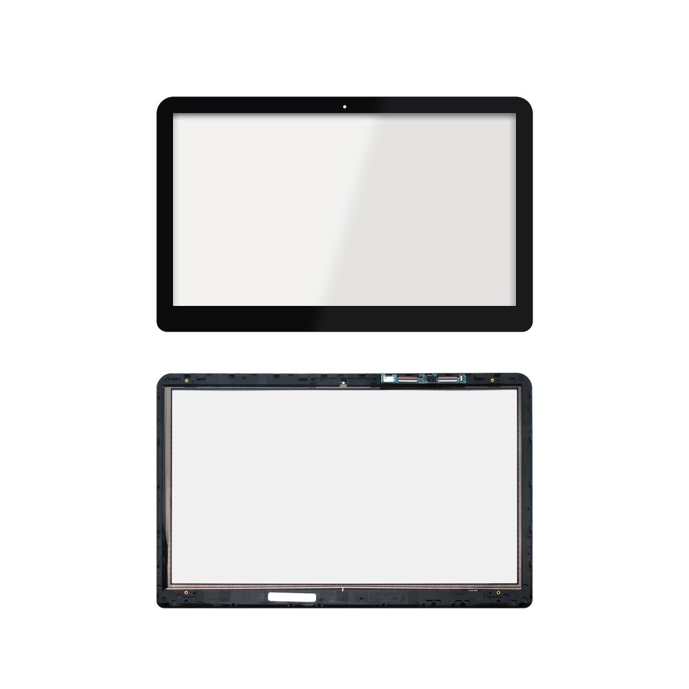 With Bezel Laptop Touch screen digitizer Glass for HP 15-BK series 15bk 15-bk127cl 15-bk100nx 15-bk153nr 15-bk105na 15-bk193ms lw 15bk