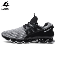 2018 New Damping Men Casual Shoes Large Size 39 48 Fashion Trending Mens Sneakers Summer Lace Up Comfortable Mesh Man Shoes T113