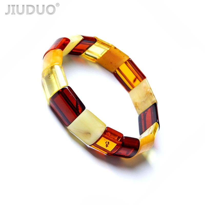 Amber beeswax original stone pure natural amber beeswax wristband bracelet male and female models a picture design factory s925 pure silver personality female models new beeswax