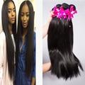Cheap 7A Brazilian Virgin Hair Straight 4 Bundles Brazilian hair weave bundles 8-30Inch Human Hair Extensions Remy Queen Hair