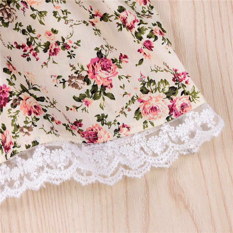 PUDCOCO Newest Toddler Baby Girls Kids Tutu Party Princess Pageant Wedding Long Sleeve Lace Dress Pop Cute Clothes 1-6T