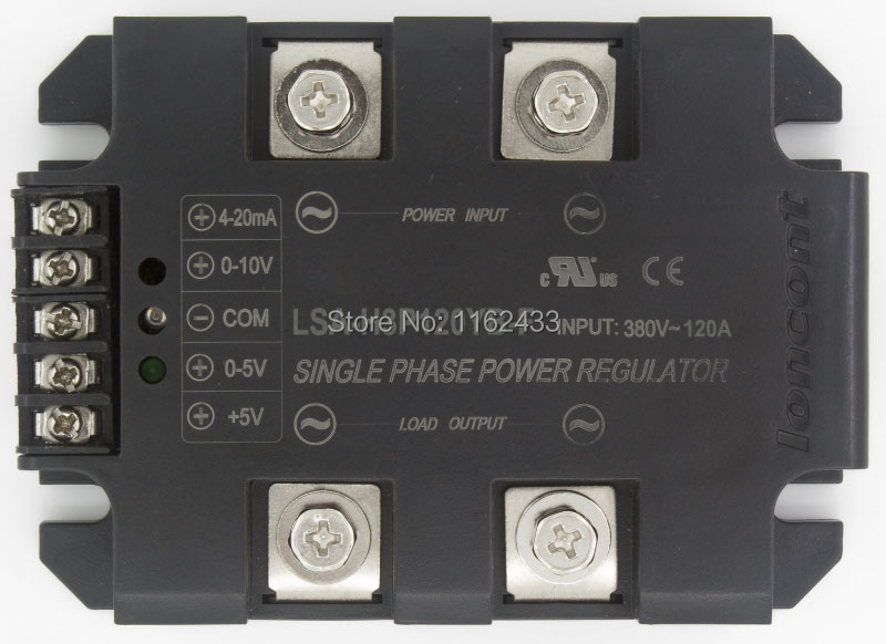 lsa h3p120yb f monofasico ac 120a 380 v circuito fechado feedback negativo regulador de tensao de