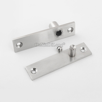 Pivot Door Hinges | High Quality 10Sets Stainless Steel Heavy Duty Door Pivot Hinges 360 Degree Rotary Invisible Furniture Hinge Install Up And Down