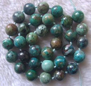Image 3 - 6mm 7mm 10mm Natural Chrysocolla Round Loose Beads 15.5Inch
