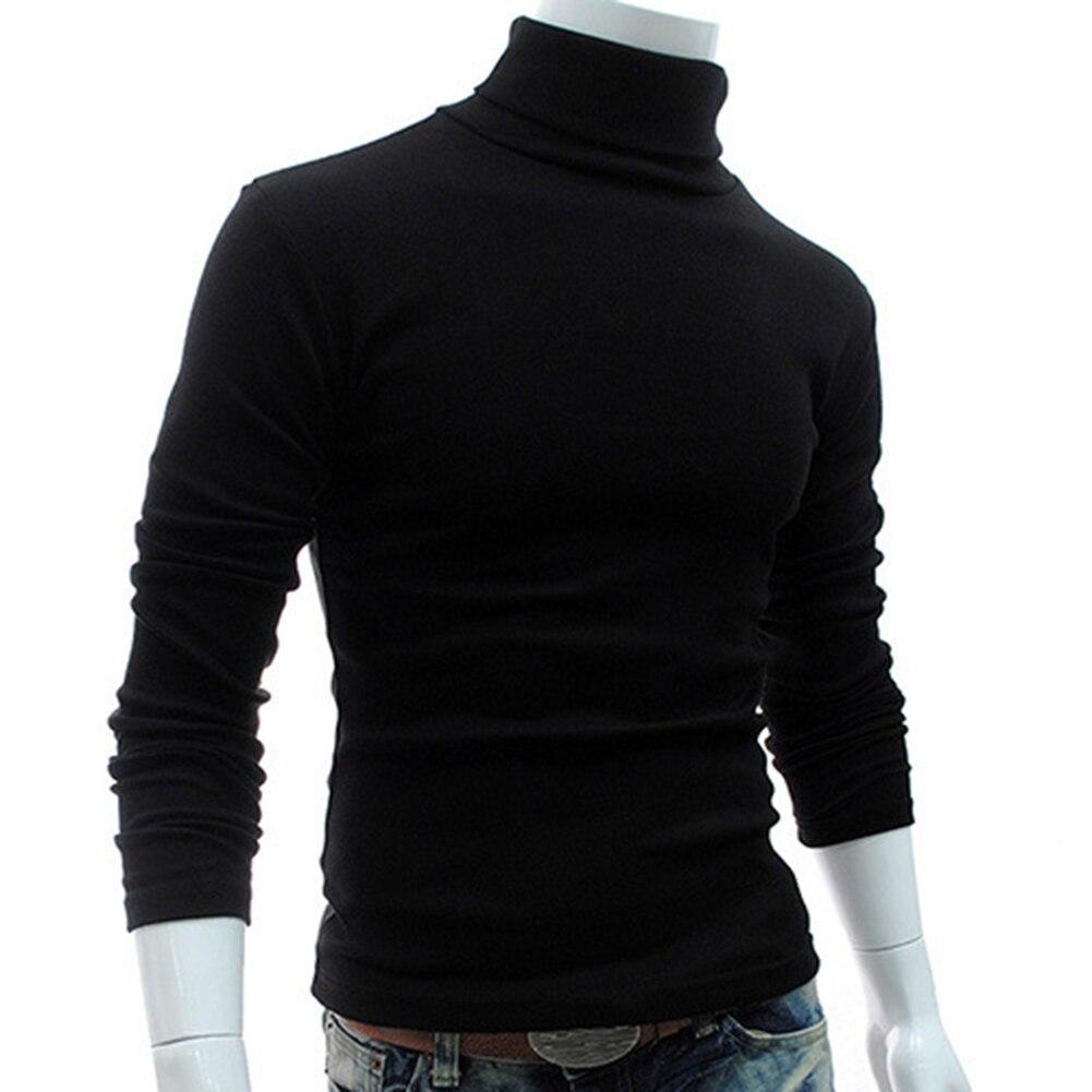 2017 Neue Herbst Männer Pullover Casual Winter Hohe Kragen Pullover Multi-farbe Wahl Weiche Und Warme Pullover Drop Verschiffen