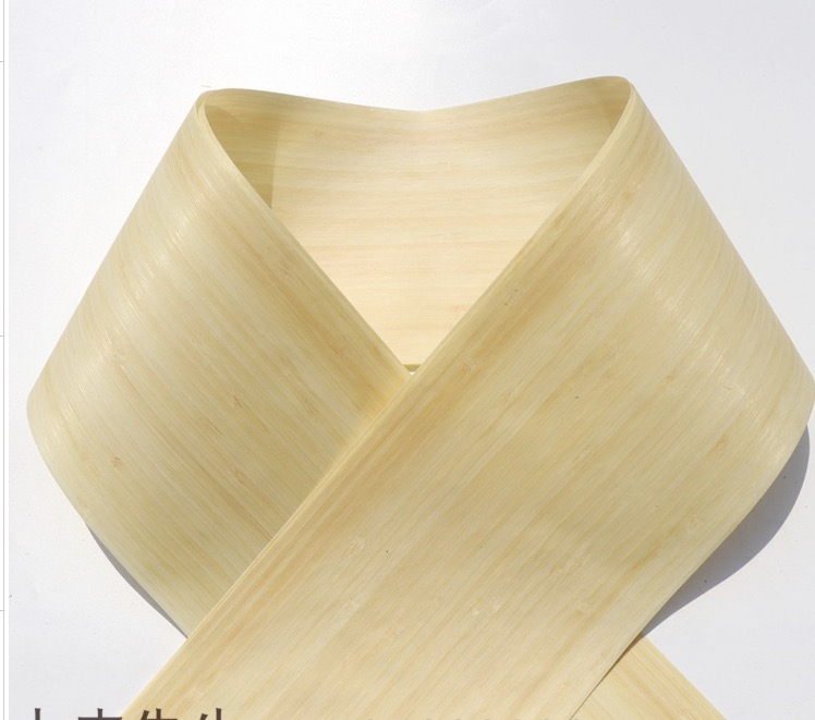 2Pieces/Lot  Length:2.5Meters  Width:15cm Natural Bamboo Skin Veneer