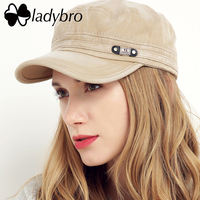 Ladybro Retro Men Hat Cap Women Brand Fashion Letter Snapback Baseball Cap Gorra Male Breathable Casquette