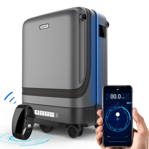 """Image 1 - TRAVEL TALE 20"""" smart rolling luggage app remote control following suitcase cabin spinner Trolley case on wheel"""